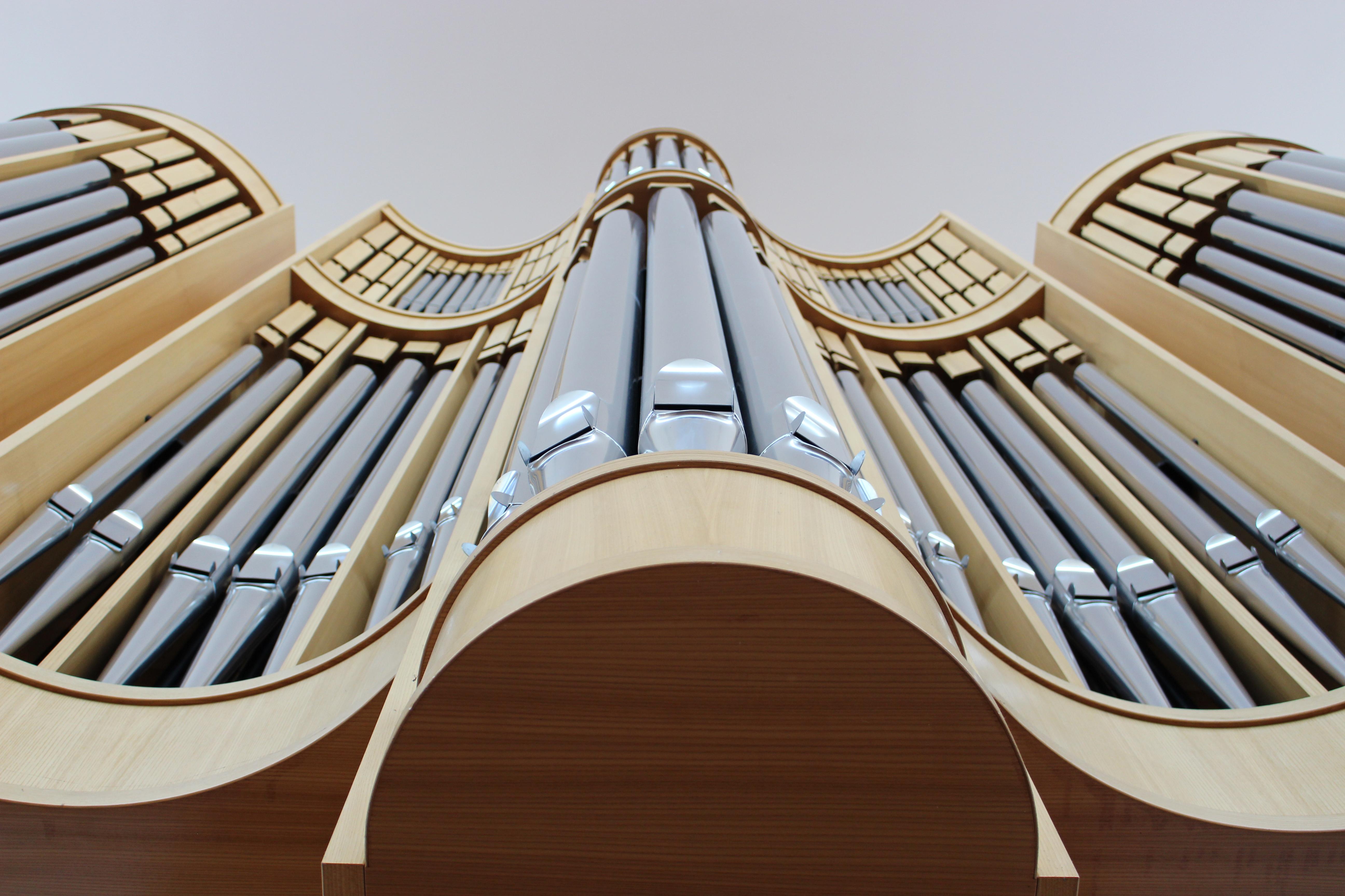 Orgel in der Kirche Wartenberg