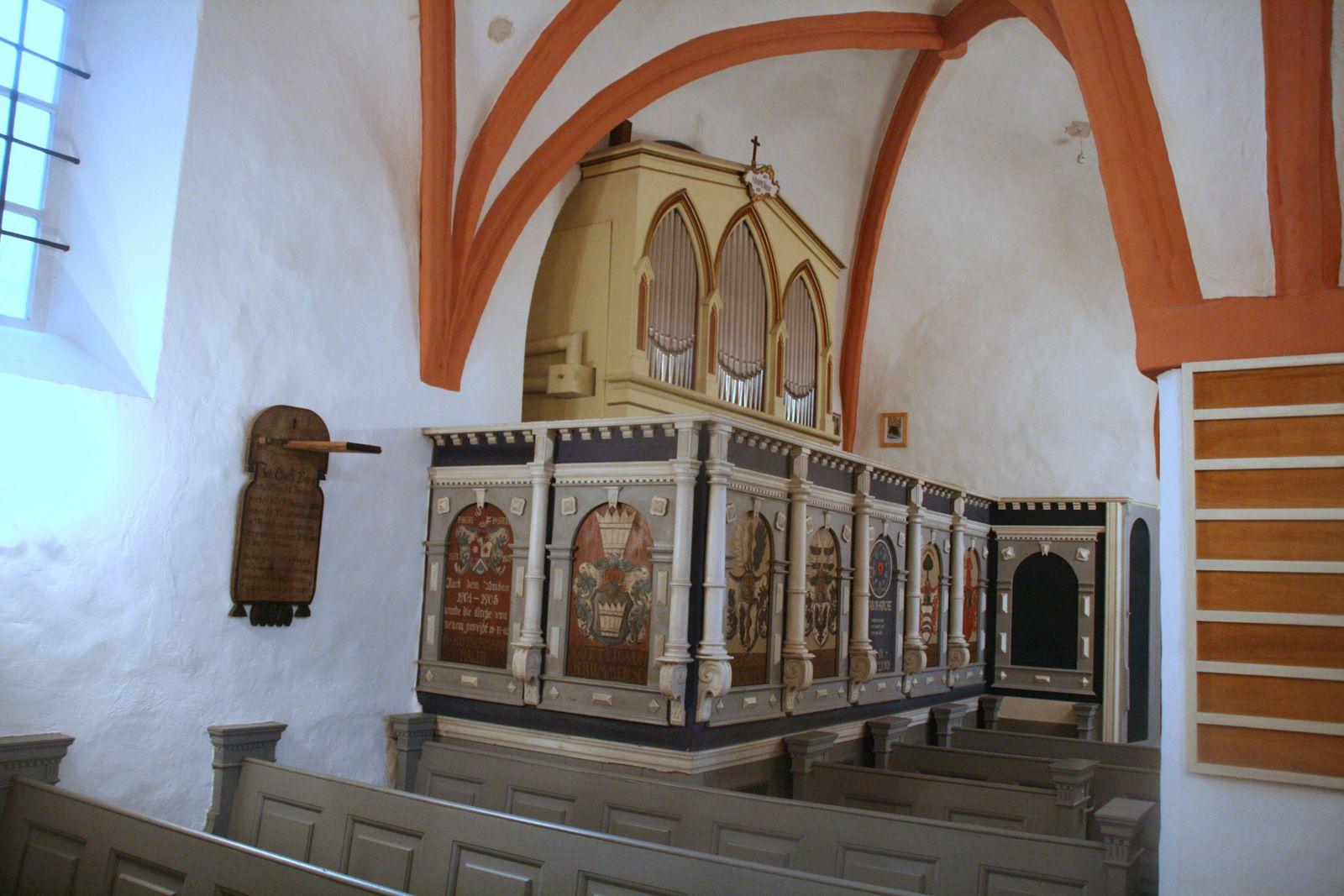 Orgel in der Taborkirche